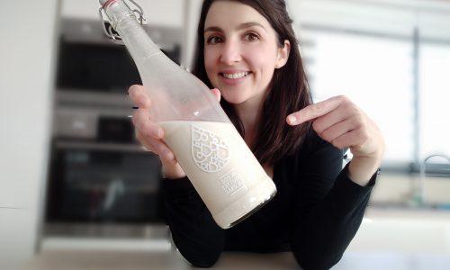 lait avoine maison