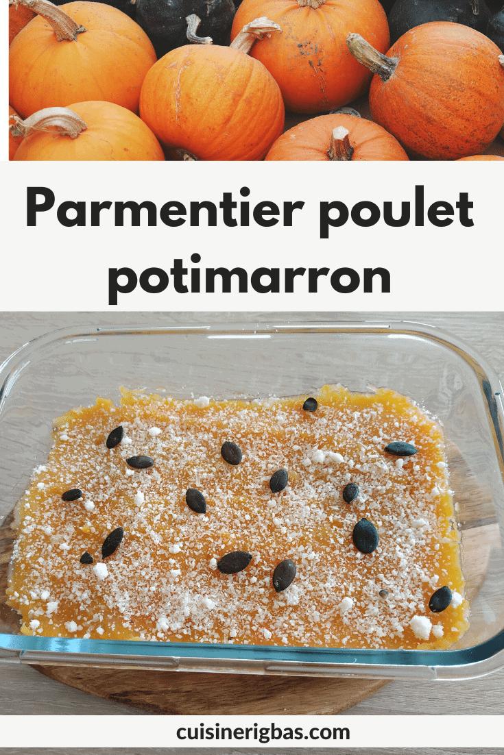 recette pinterest parmentier poulet potimarron