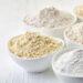 exemples de farines IG bas sans gluten